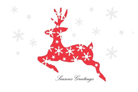 Christmas Cards: Reindeer design