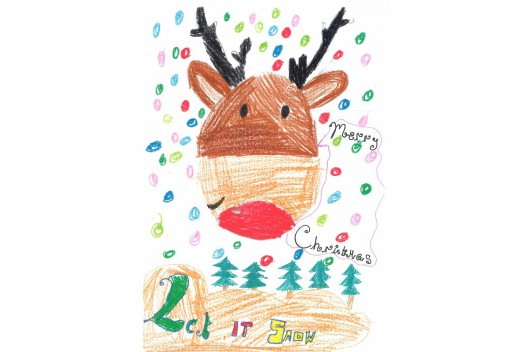 Christmas Cards: Reindeer...